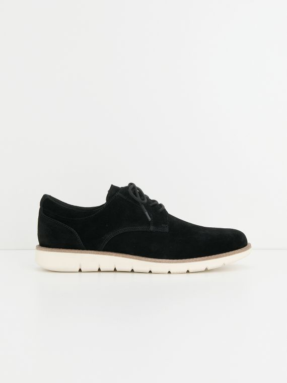 Echo Derby - Suede - Black