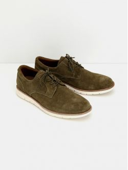 Echo Derby - Suede - Army