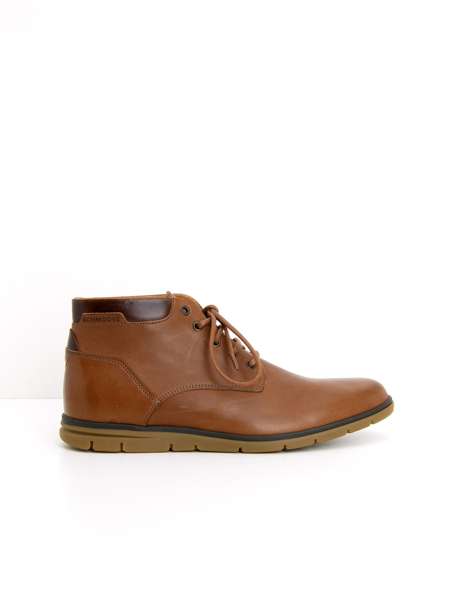 d3adba134bee3 Chaussures Shaft Mid - Etna Ciclon - Cognac Horse - Schmoove