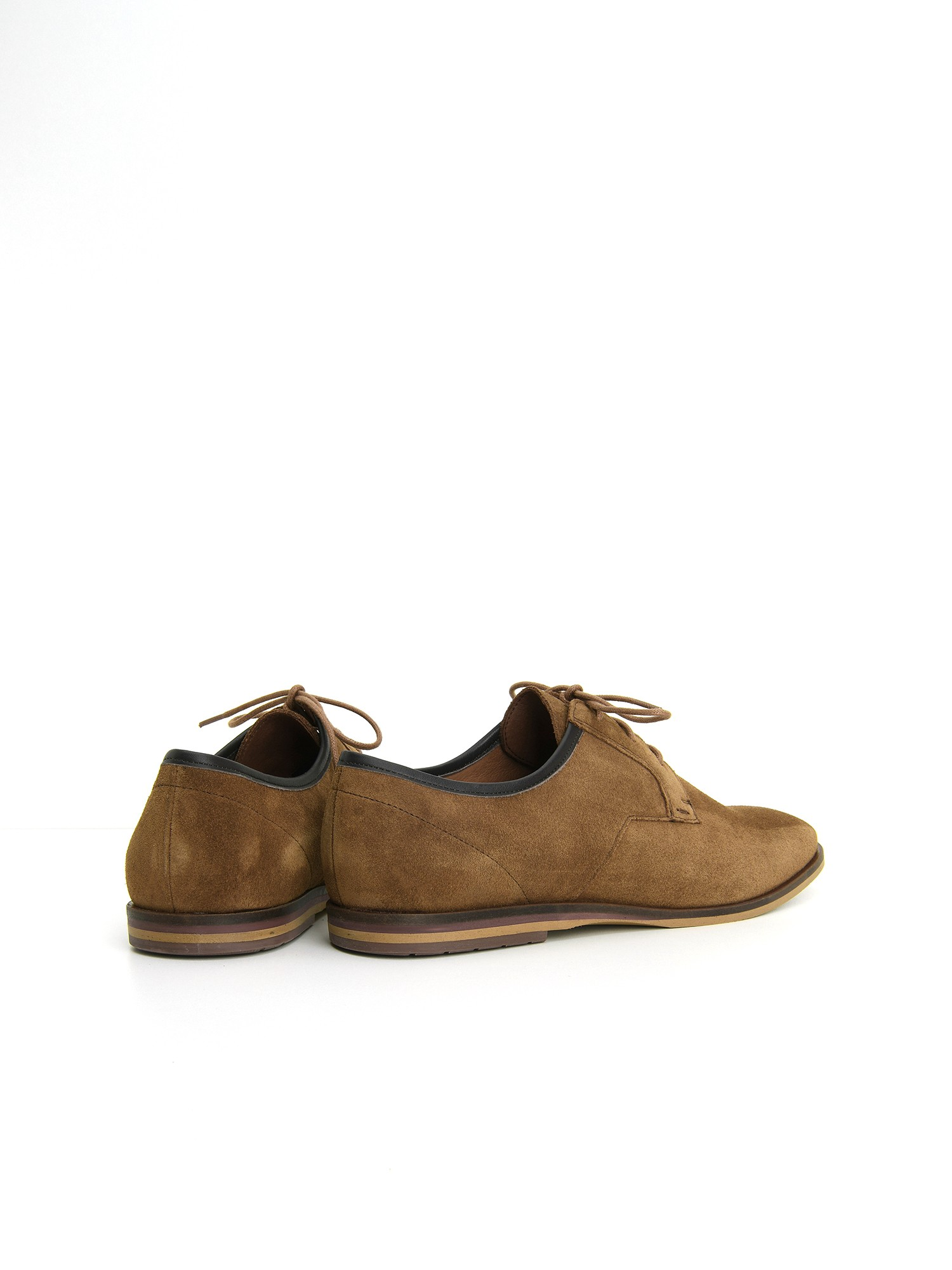 schmoove.fr SWAN CITY - SUEDE/LOTUS - CIGARO/BROWN