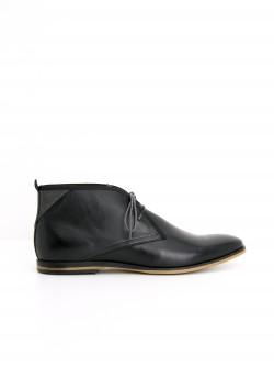 SWAN BOOTS - LOTUS - BLACK