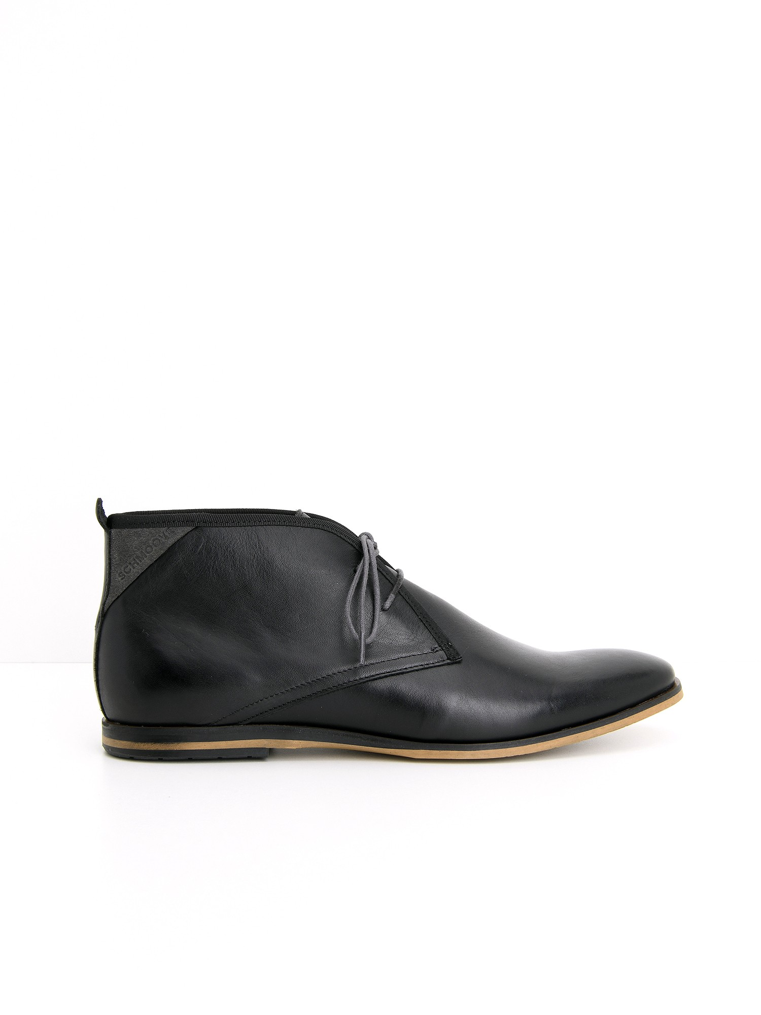 schmoove.fr SWAN BOOTS - LOTUS - BLACK