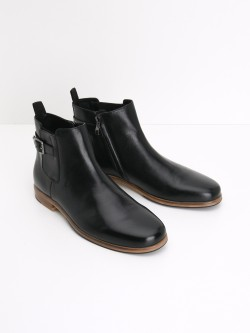 SINGLE BOOTS - TAURUS - BLACK