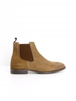BRONSON BOOTS - SUEDE - COGNAC