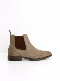 BRONSON BOOTS - SUEDE - TAUPE