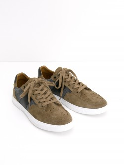 CUP TENNIS - SUEDE/FLANNEL - VISON/GREY