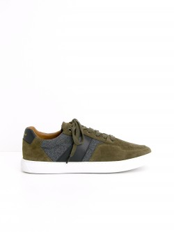 CUP TENNIS - SUEDE/FLANNEL - STONE/GREY