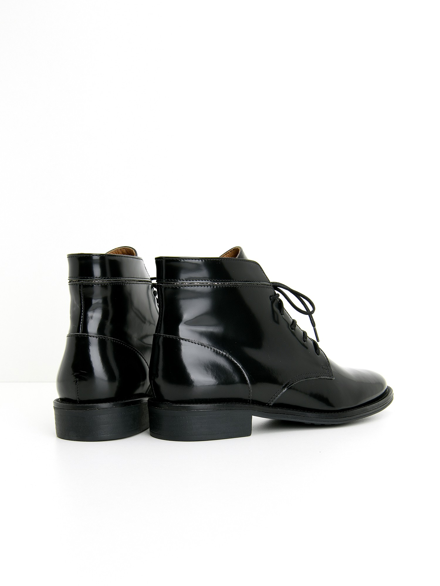 schmoove.fr NEWTON BOOTS - BOX/DIAMOND - BLACK/GRAPHITE