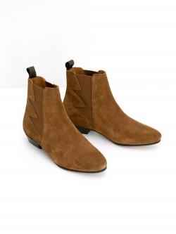 Peckham Boots - Suede Vintage - Cognac