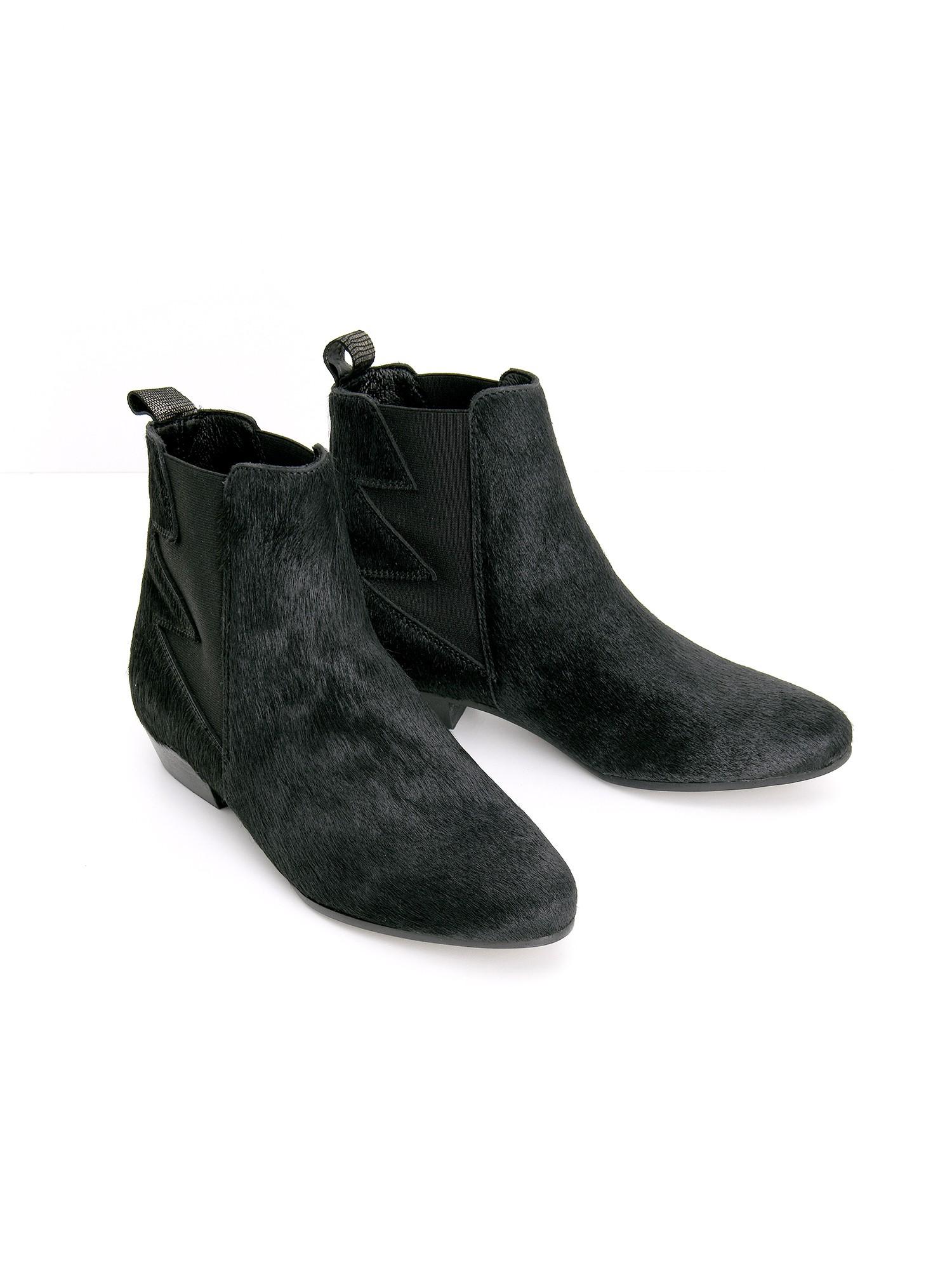 schmoove.fr PECKHAM BOOTS - PONY - BLACK