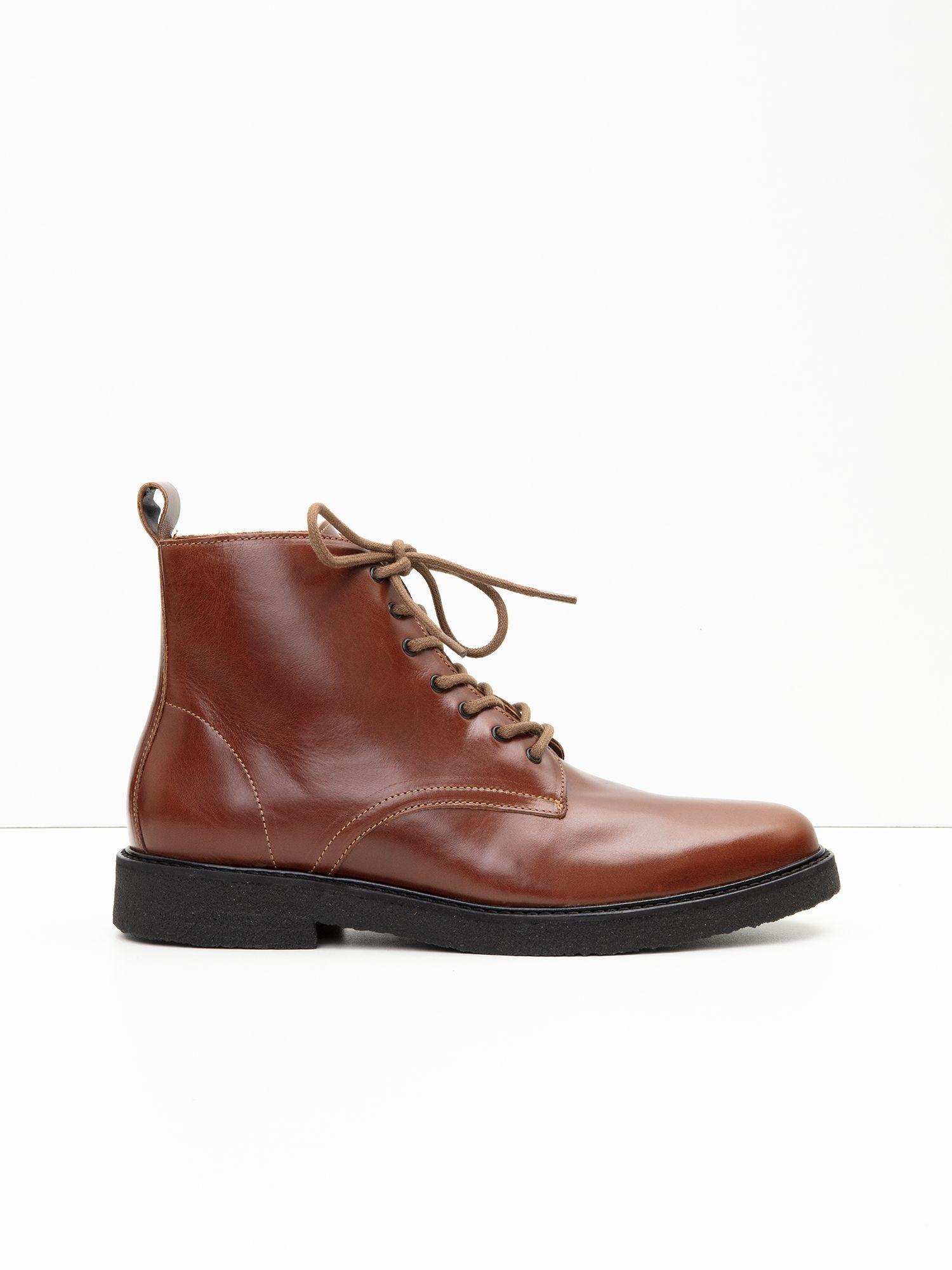 schmoove.fr Nevermind Boots M - Flag - Cognac