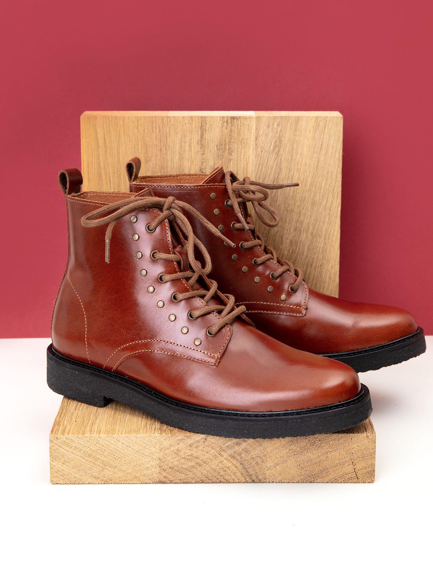 schmoove.fr Nevermind Boots W - Flag - Cognac