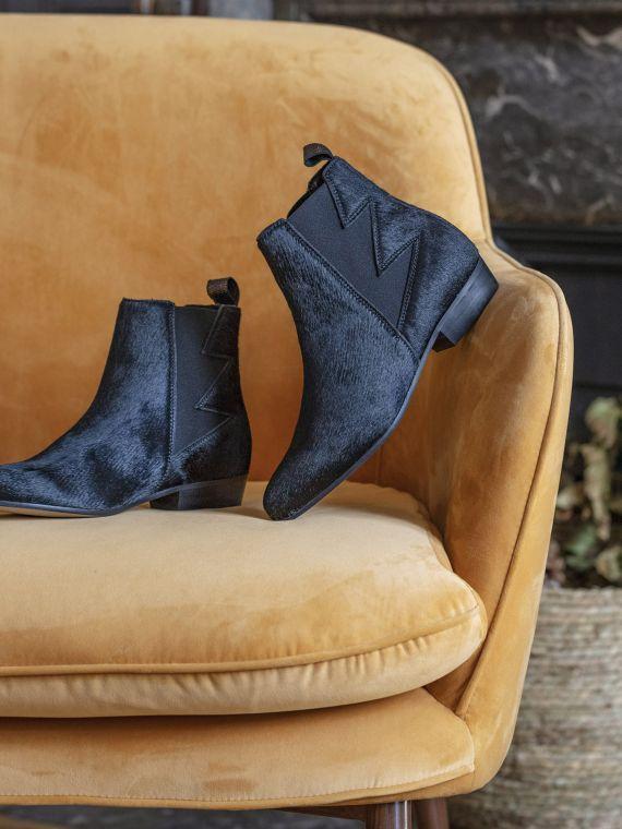 Peckham Boots - Pony - Black