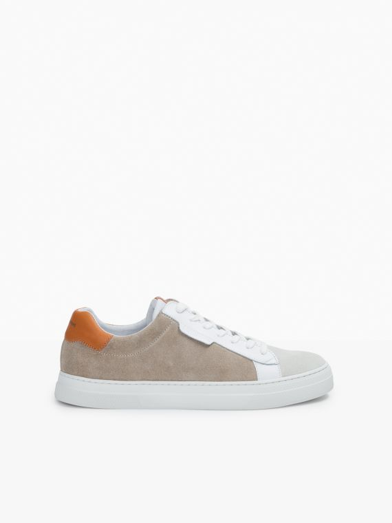 Spark Clay - Suede/Nappa - Beige/Orange