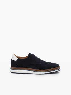 Punch Derby - Punch Suede - Azul