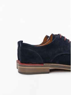 Pilot New Derby - Suede - Azul
