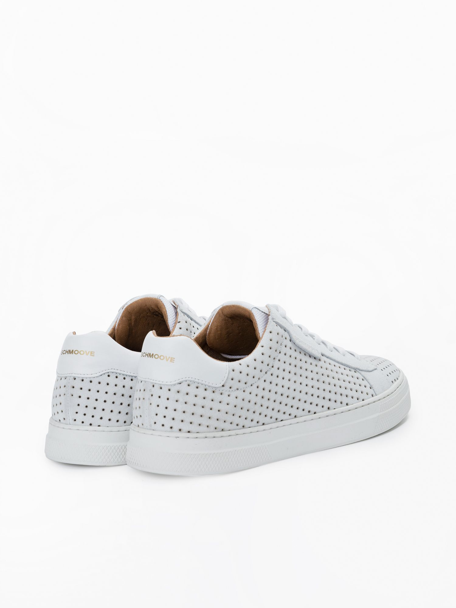 schmoove.fr Spark Clay - Punch Suede - White/White