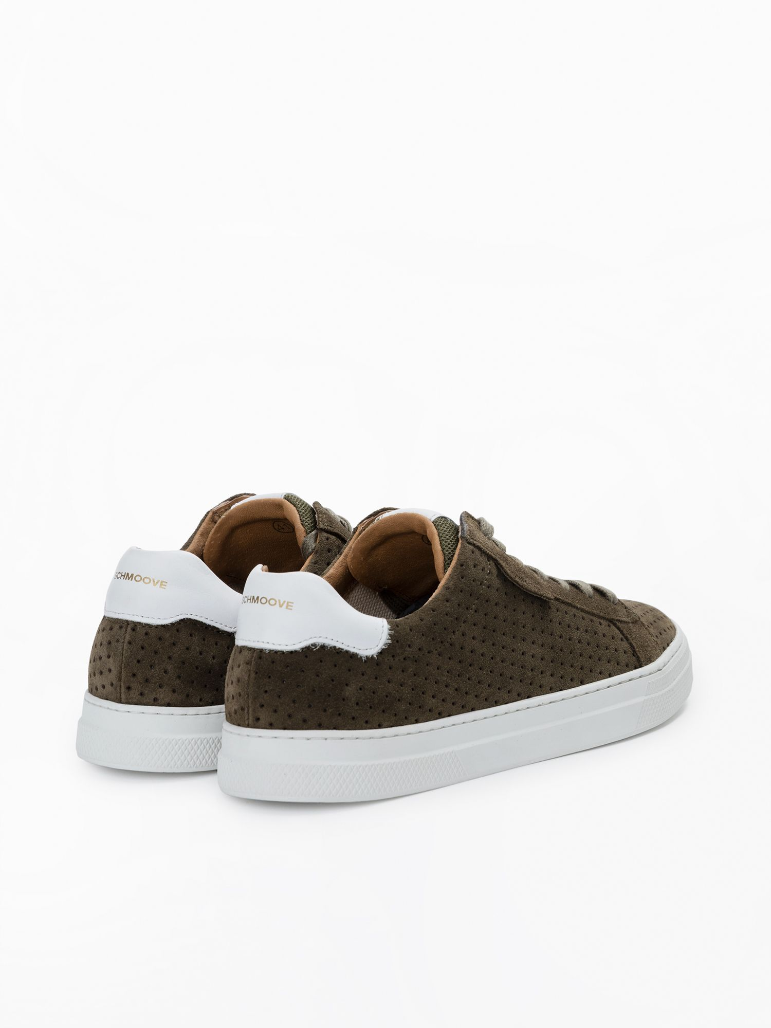 schmoove.fr Spark Clay - Punch Suede - Olive/Olive
