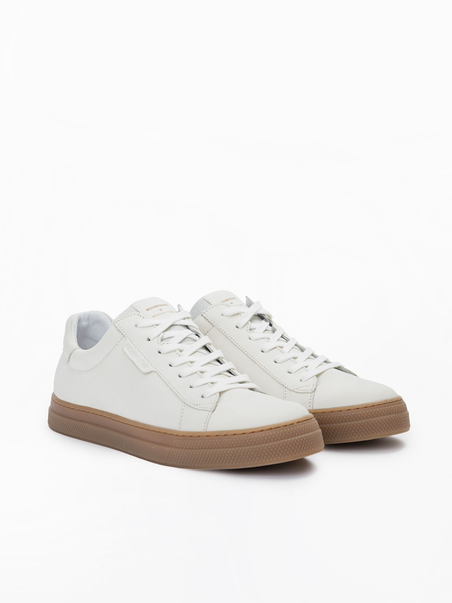 schmoove.fr Spark Clay - Nubuck - White Sole L. Gomme