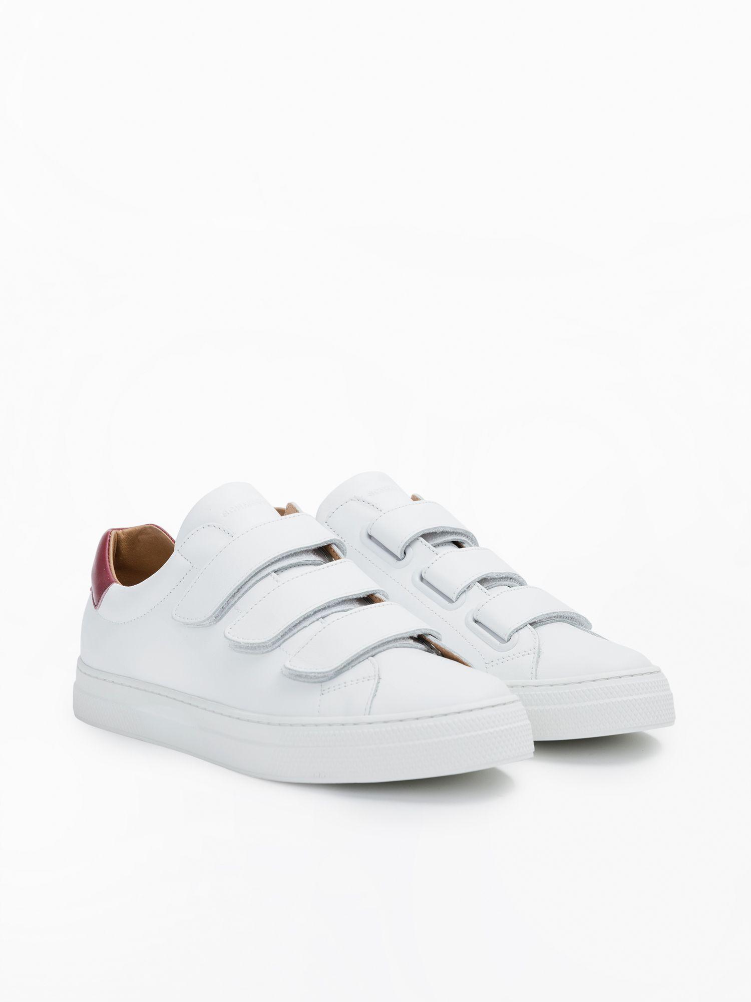 schmoove.fr Spark Free - Nappa/Nappa - White/Red