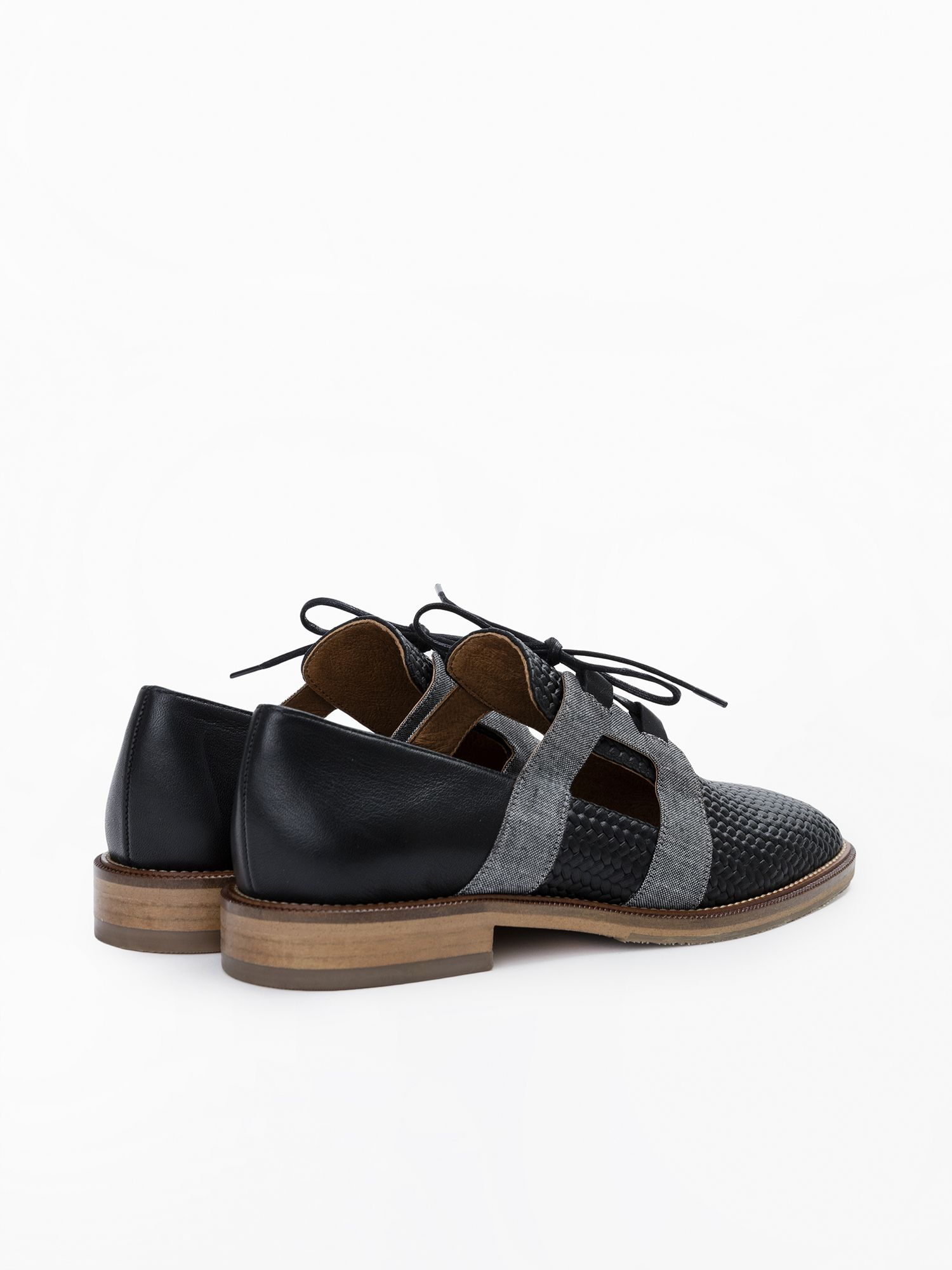 schmoove.fr Call Open - Sauvage/Chambray - Black/Black