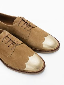 Call Derby - Kid Suede/Douro - Antilope/Oro