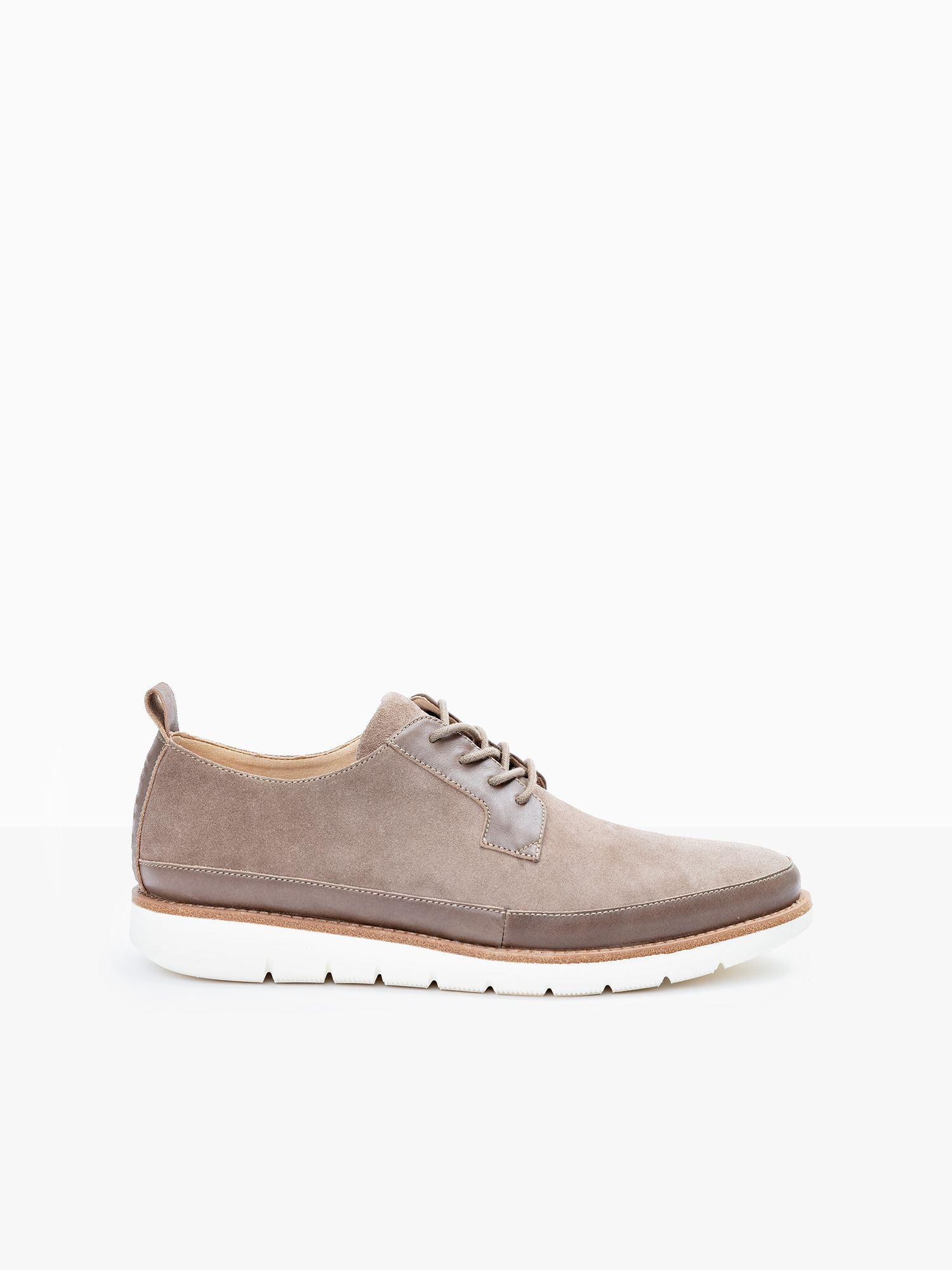 schmoove.fr Echo Cooper - Cow Suede - Taupe