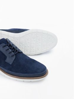 Echo Cooper - Cow Suede - Navy