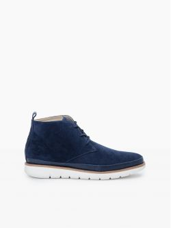 Echo Desert - Cow Suede - Navy