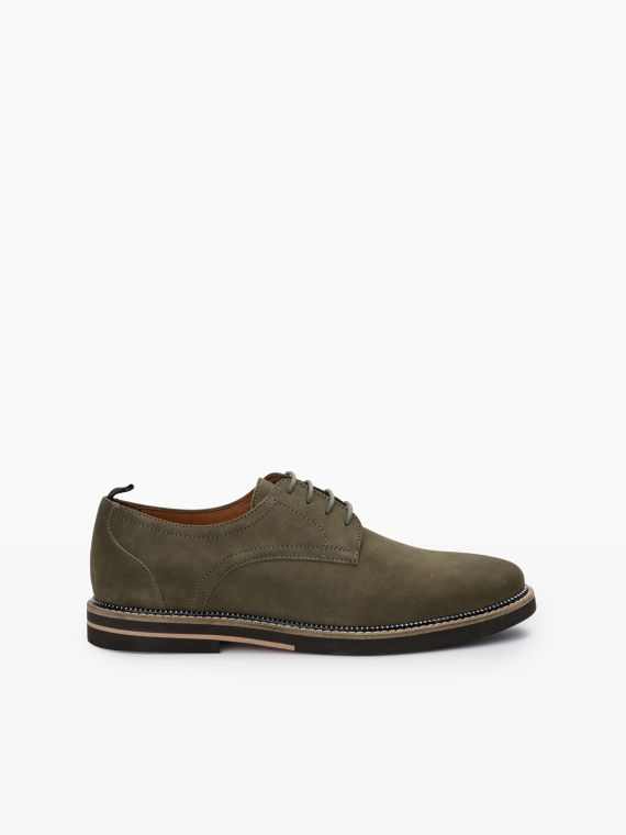 Solal Derby - Nubuck - Olive
