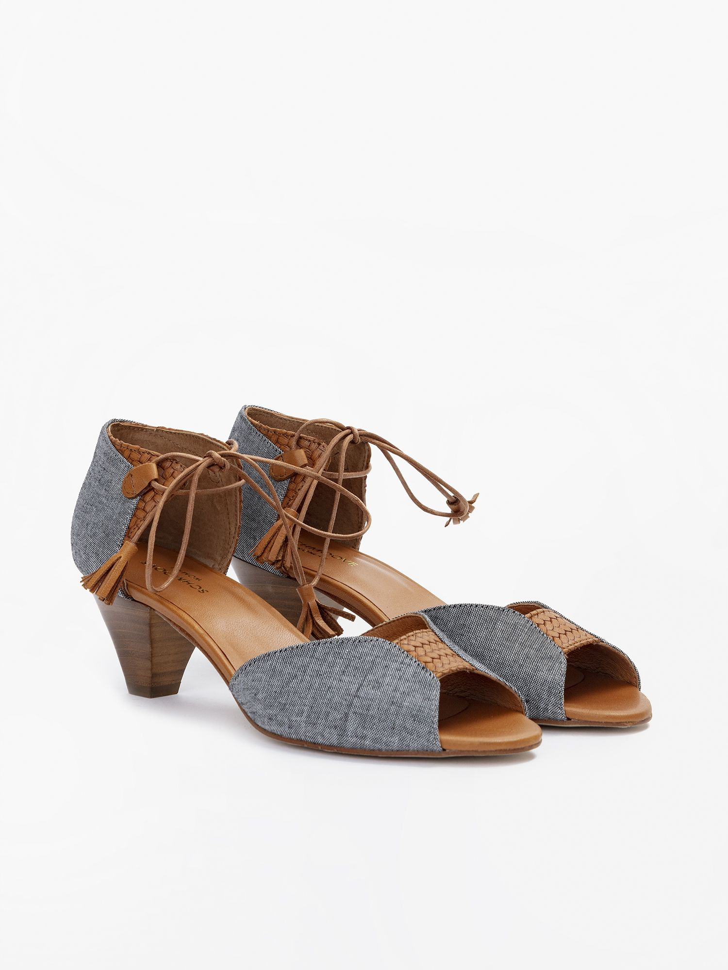 schmoove.fr CIRCUS LACE - CHAMBRAY - BLACK