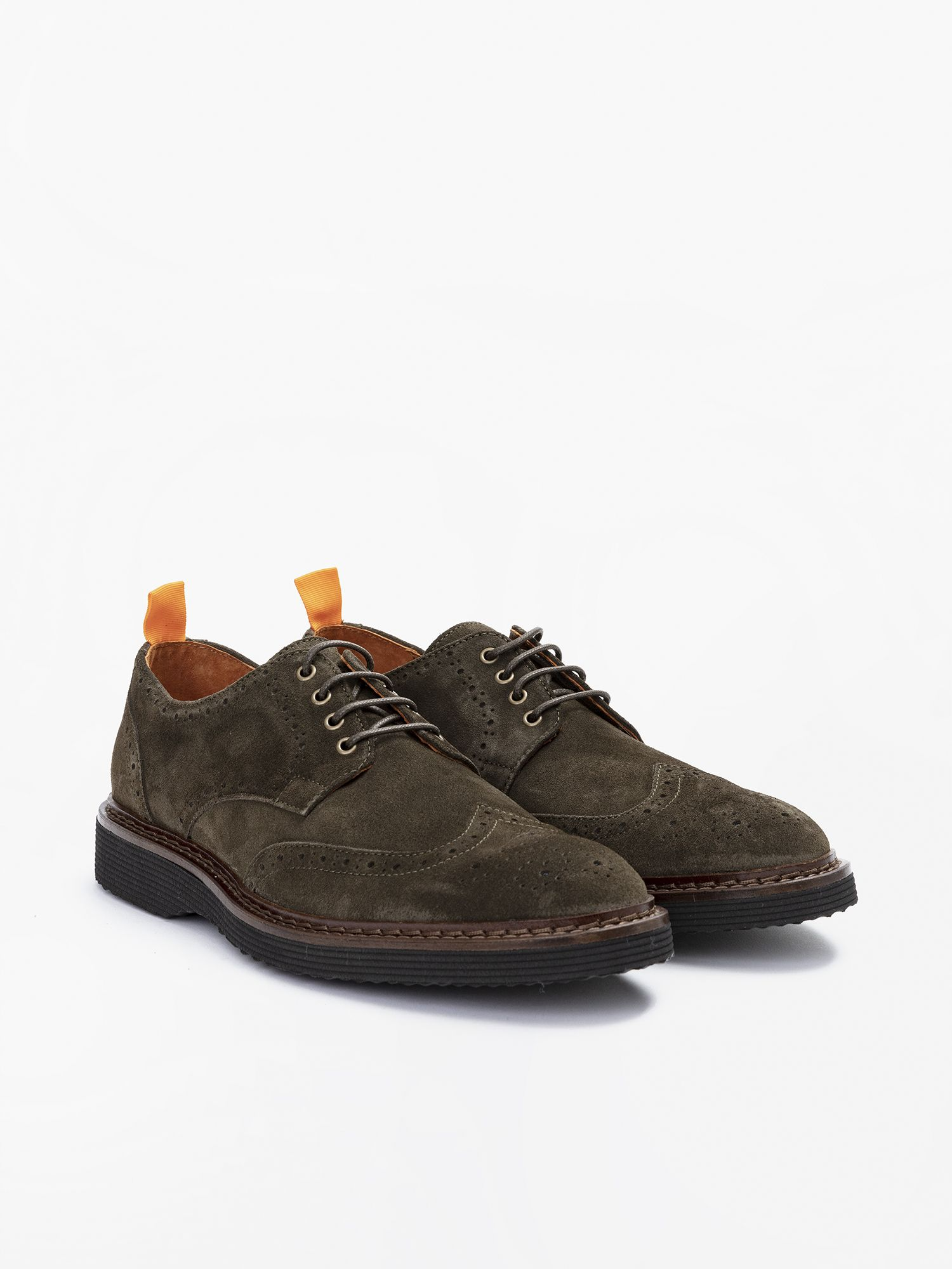 schmoove.fr Mora Perfo - Suede - Olive