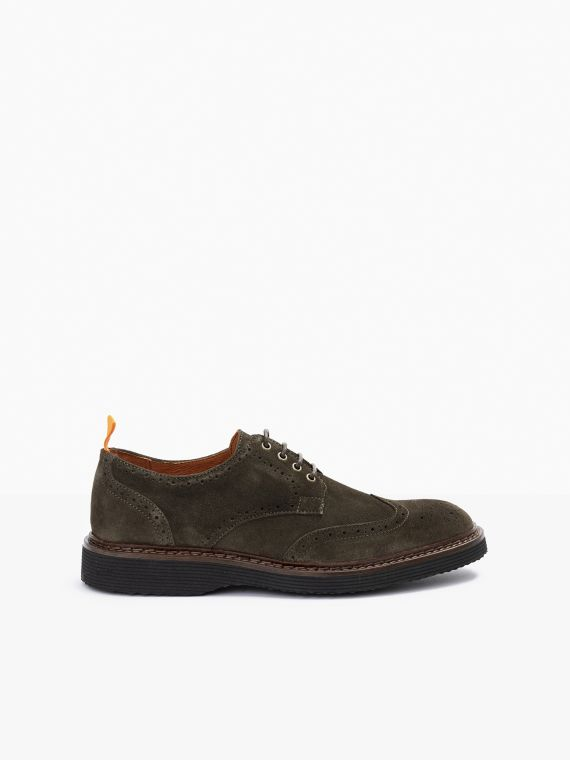Mora Perfo - Suede - Olive