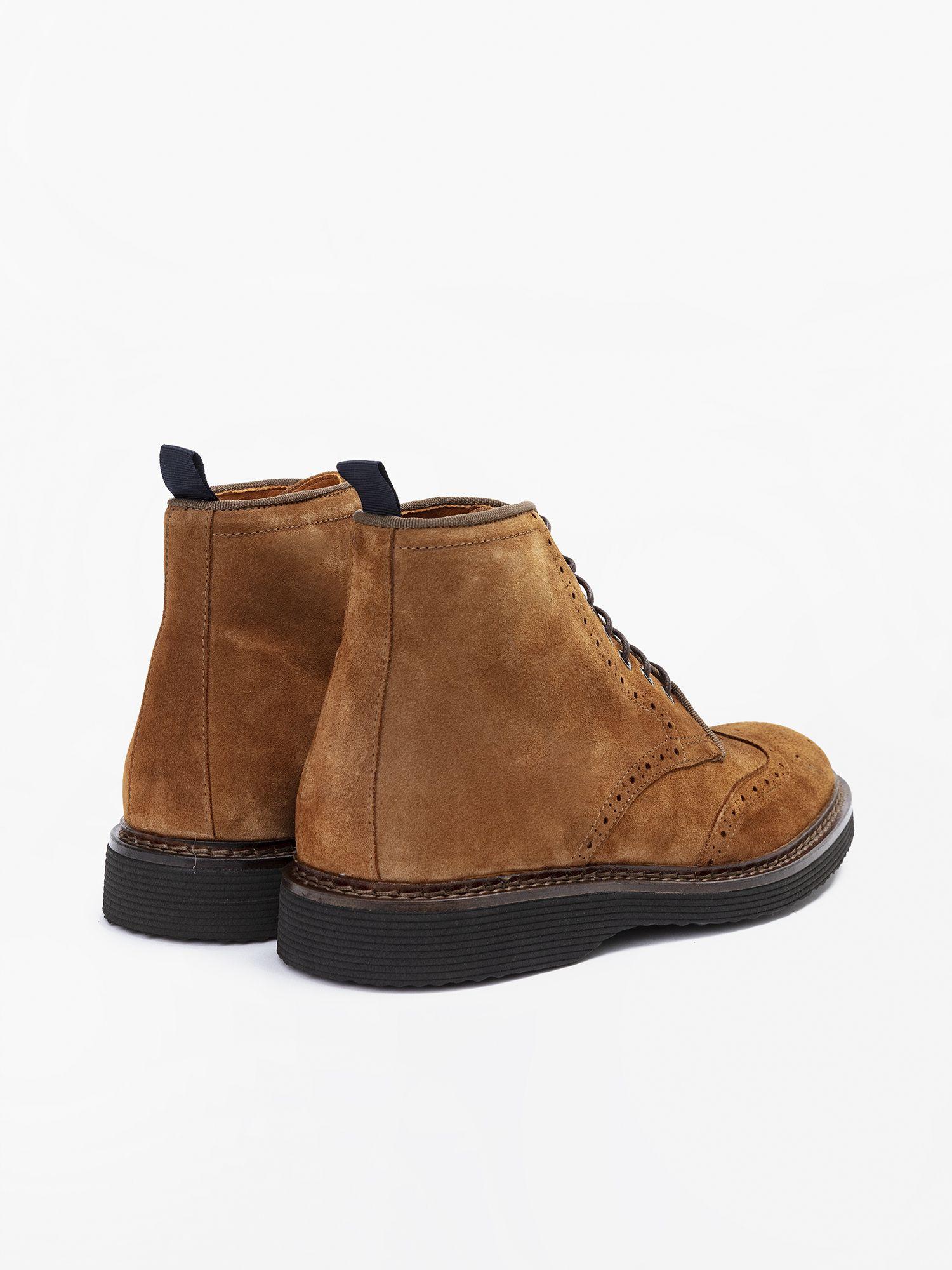 schmoove.fr Mora Boots - Suede - Cognac