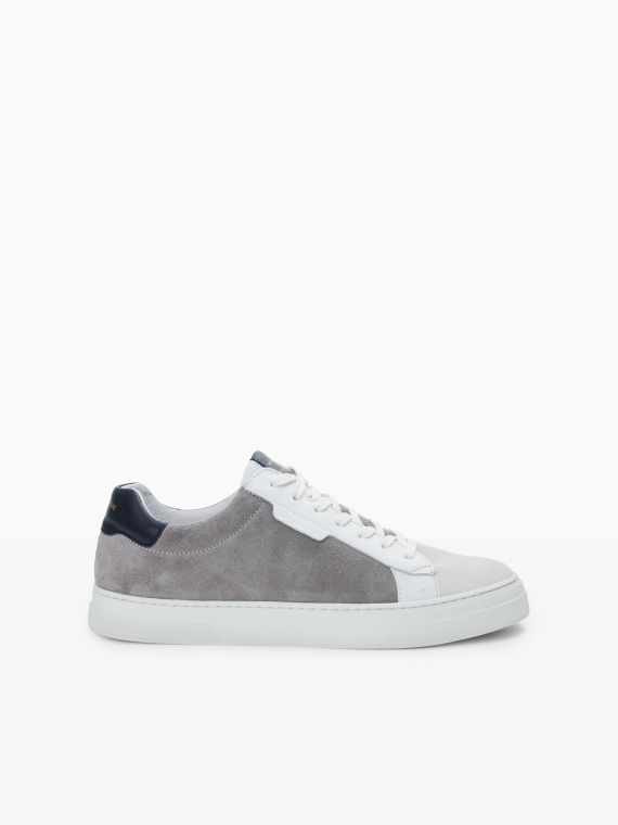 Spark Clay - Suede/Nappa - Nickel/Navy