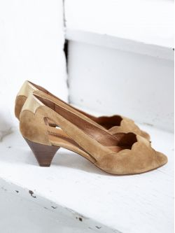 Circus Pump - Kid Suede - Antilope