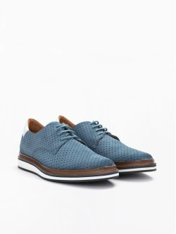 Punch Derby - Punch Suede - Denim