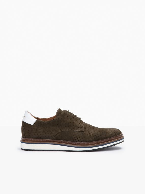 Punch Derby - Punch Suede - Olive