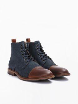 Knock Boots - Alfa/Bufalo - Honey/Ardoise
