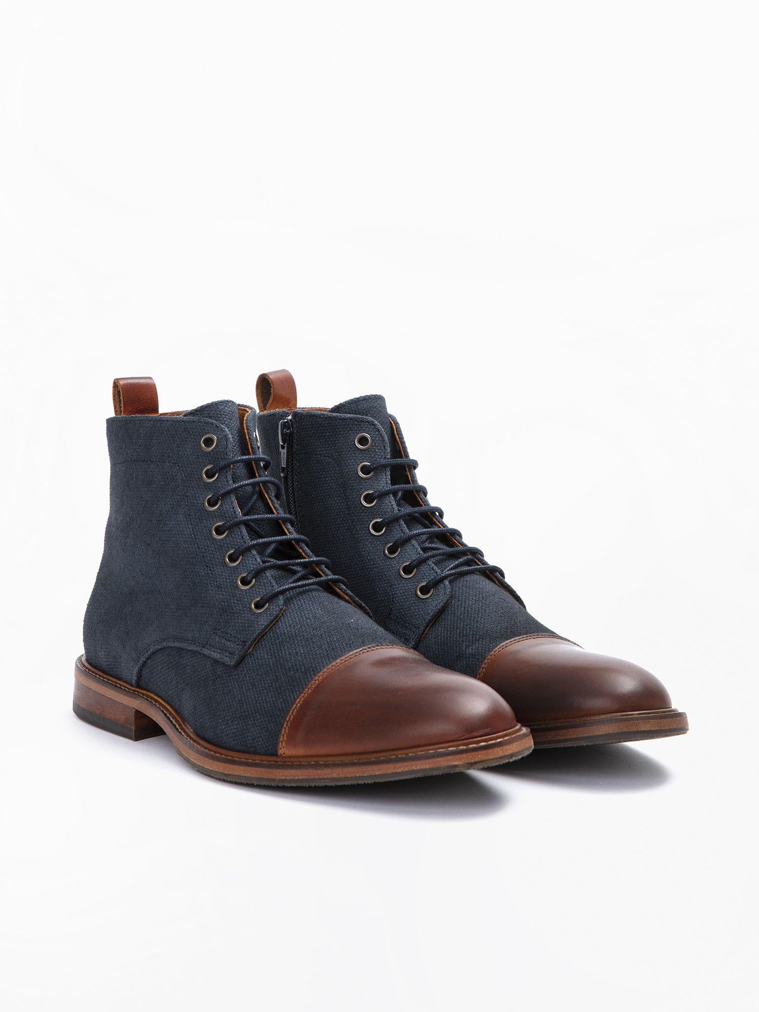 schmoove.fr Knock Boots - Alfa/Bufalo - Honey/Ardoise