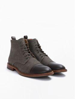 Knock Boots - Alfa/Bufalo - Coffee/Taupe