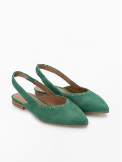 Eva Pump - Kid Suede - Verde