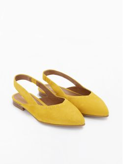 Eva Pump - Kid Suede - Mimosa