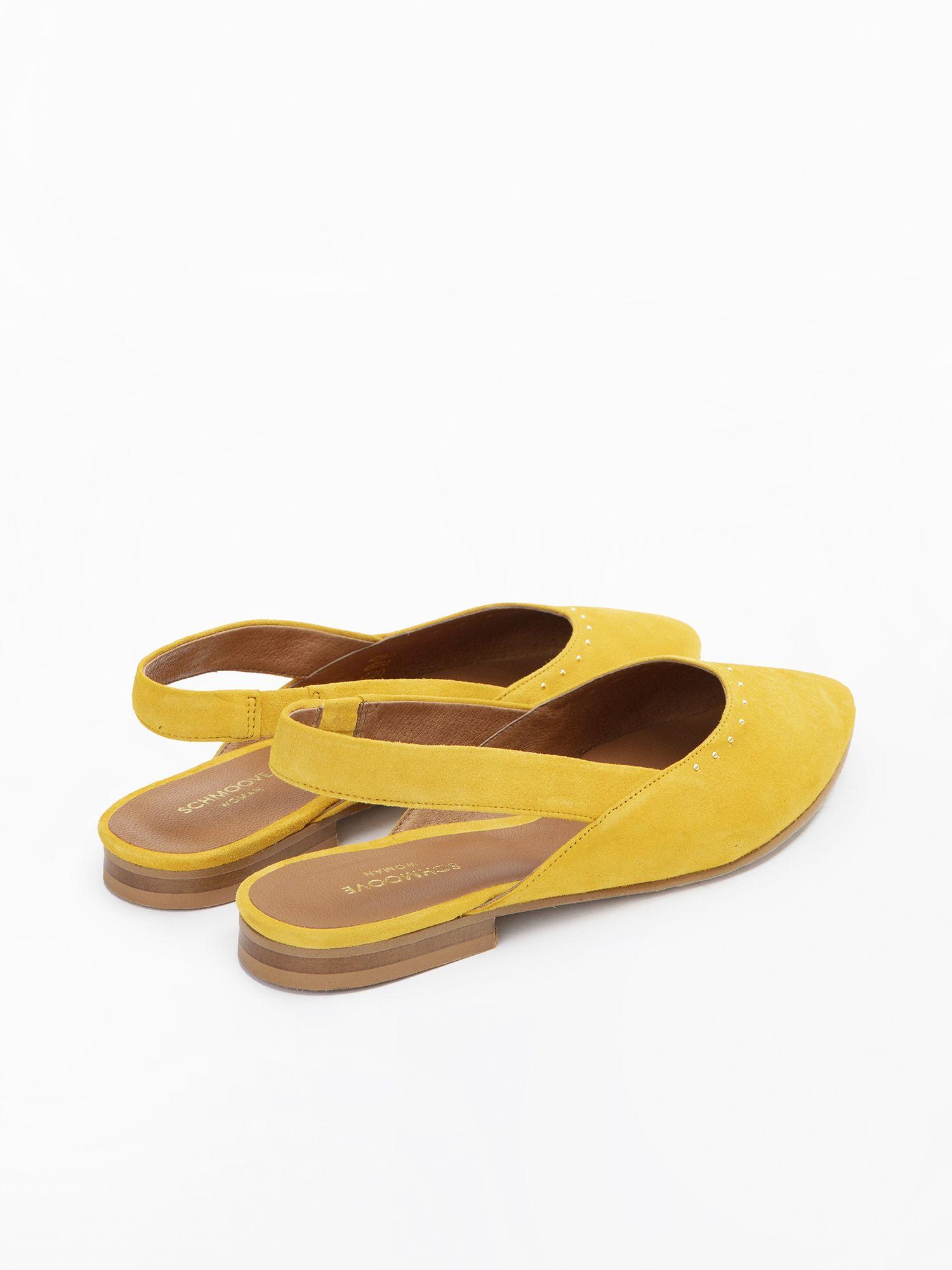 schmoove.fr Eva Pump - Kid Suede - Mimosa