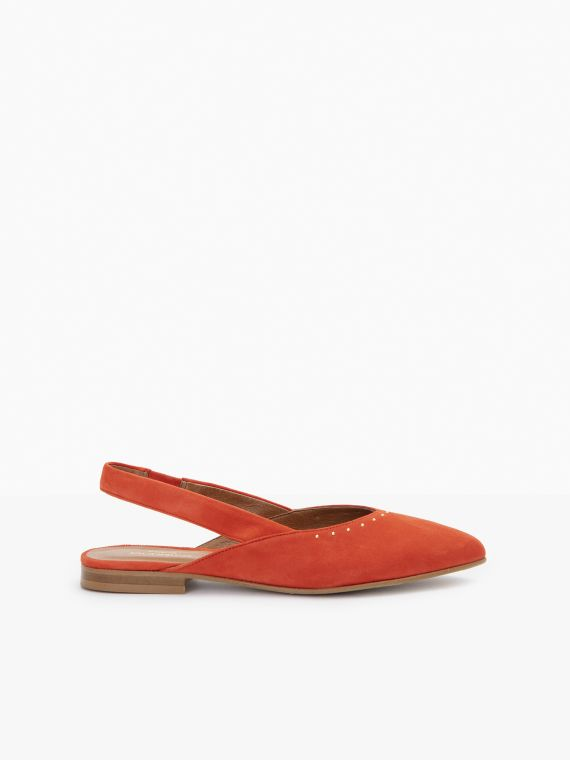 Eva Pump - Kid Suede - Flamenco