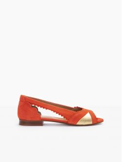 Retro Pump - Kid Suede - Flamenco