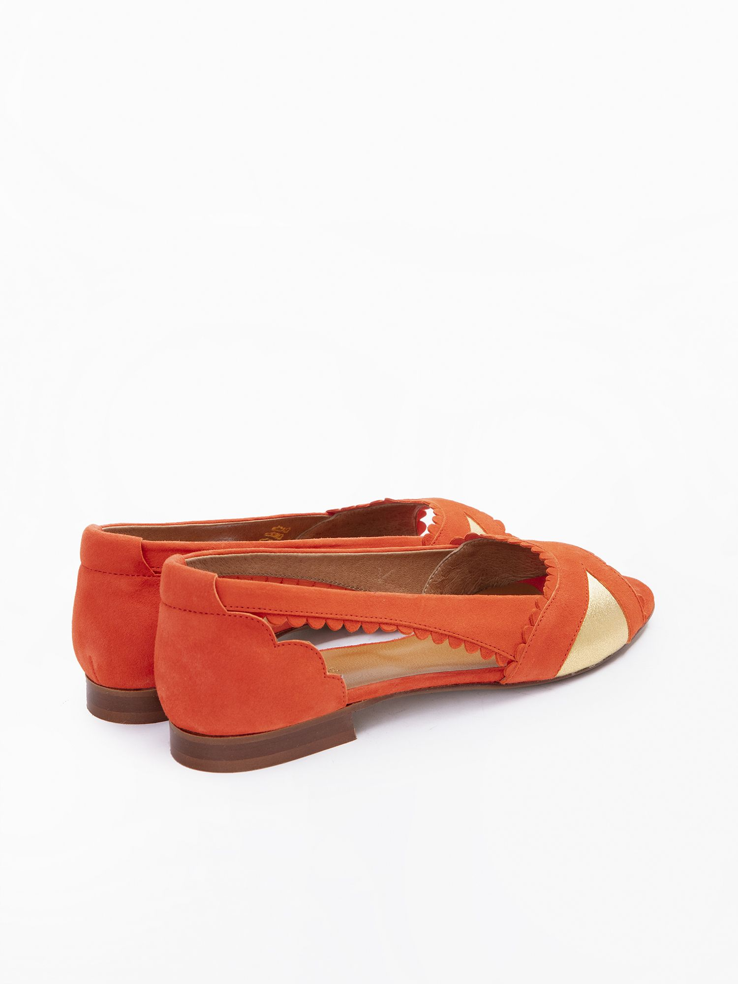 schmoove.fr Retro Pump - Kid Suede - Flamenco