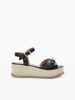 Nelly Sandal - Sauvage - Black