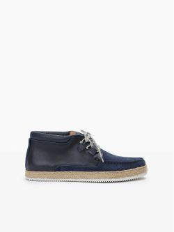 TEQUILA BOAT - SUEDE/ETNA - DEEP BLUE/MARINO
