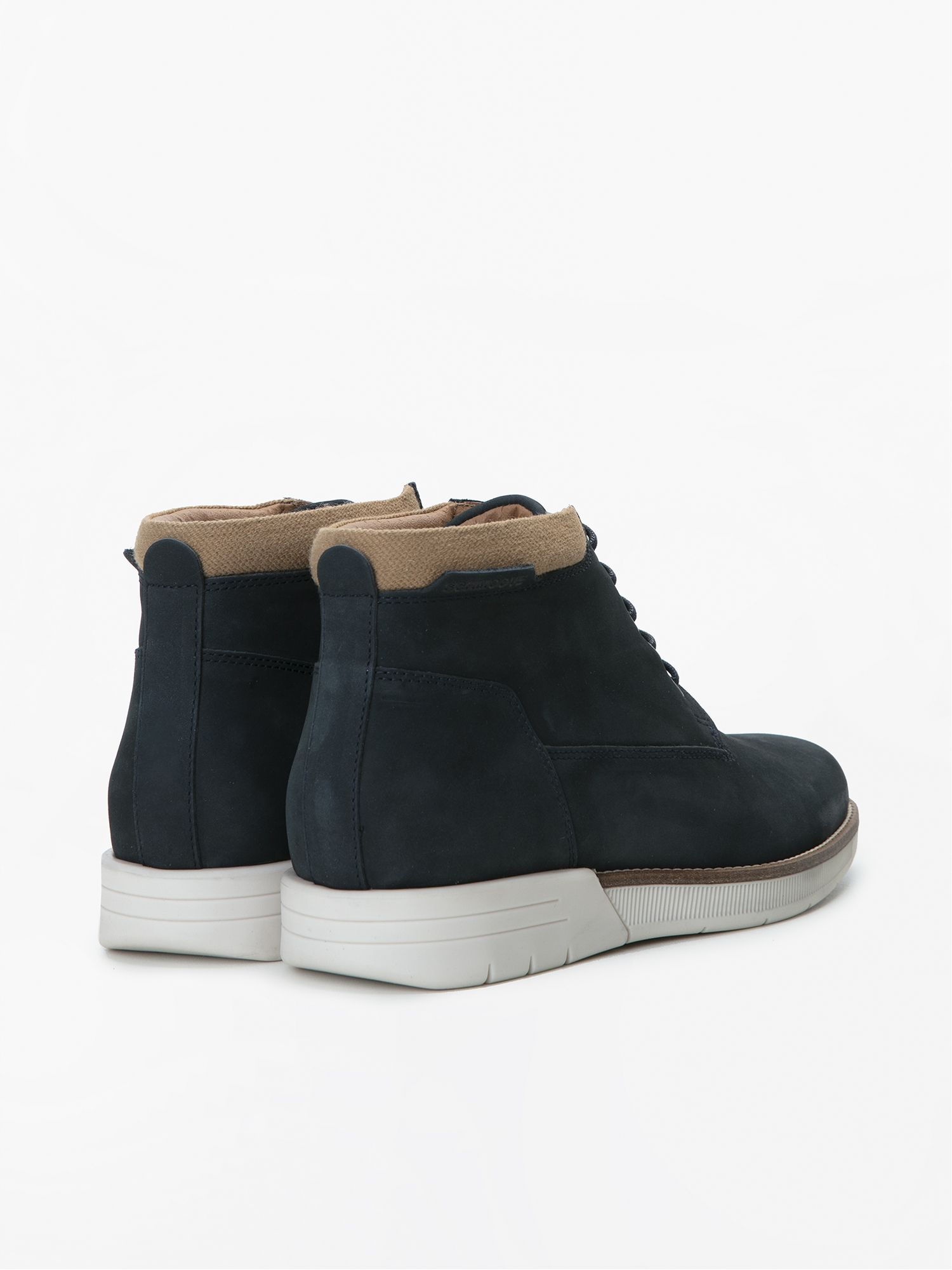schmoove.fr BREAK MID - NUBUCK - NAVY